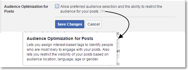 Audience Optimization for Posts