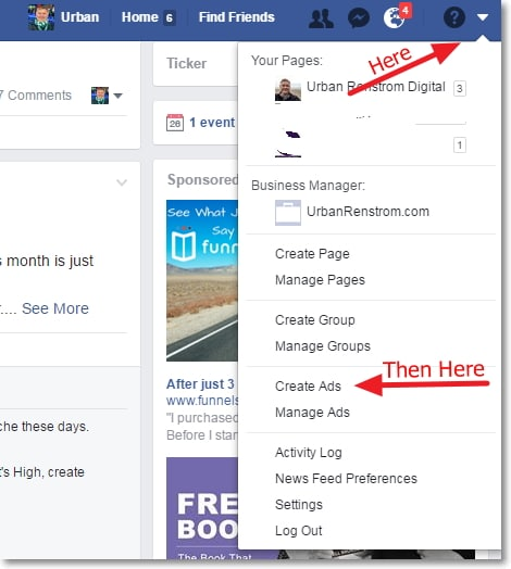 Access to Facebook Ads Manager